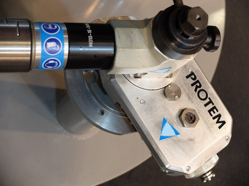 US25-ACC - Beveling machine for flange machining