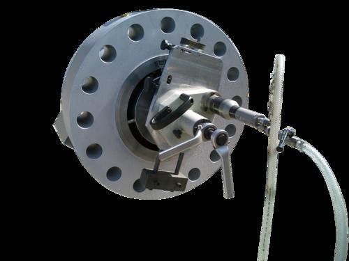US40ASB - Beveling machine with flange resurfacing module