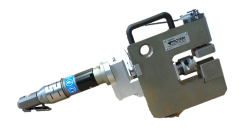 GR40 - OD mount machining equipment for boiler tubes Waterwall Cutout Windows
