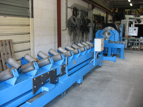 BB-12-24 - High Speed Beveling Bench for pipes ranging from 12