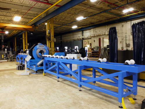 CTA-2-12 - High Speed cutting and beveling machine for pipes ranging from 2
