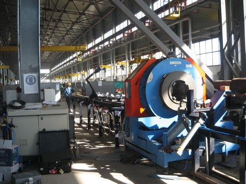 CTA-6-16 - Automatic cutting and beveling machine for pipes ranging from 6