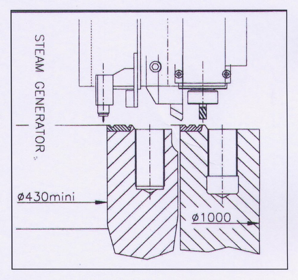 Us 480 R Machining And Cladding Equipment On Steam Generator Nuclear Power Plant Line Diagram Photos